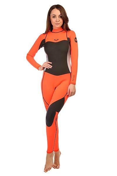 Гидрокостюм (Комбинезон) женский Roxy 3/2mm Synbas Graphite/PeachГидрокостюмы<br>Гидрокостюмы Roxy идеально соответствуют потребностям начинающих сёрферов. Это первая линейка гидрокостюмов начального уровня, целиком и полностью сшитая из материала Hyperstretch II, что делает их на 18% эластичнее любого другого базового костюма: полная свобода движений особенно важна для начинающих в любом виде активного досуга или спорта. Характеристики:Нагрудная панель моделей с обоими типами молний (нагрудной и спинной) усовершенствована за счет технологии HFT HeatingSystem ( Hollow Fiber Technology System ), которая обеспечивает дополнительную теплоизоляцию.Водонепроницаемость спинной молнии гарантирована специальной панелью Hydroshield.<br><br>Размер EU: 4<br>Размер EU: 6<br>Размер EU: 8<br>Цвет: серый,розовый<br>Тип: Гидрокостюм (Комбинезон)<br>Возраст: Взрослый<br>Пол: Женский