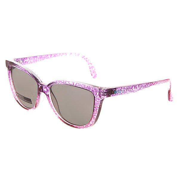Очки детские Roxy Coco Crystal Pink SplatteСолнцезащитные очки<br>Стильные очки для маленьких модников.Характеристики:Оправа из гриламида. Оптически корректные поликарбонатные линзы. 6-тислойное покрытие против царапин. 100% защиты от УФ-лучей (UV A, UVB).Мягкая защитная сумочка в комплекте.<br><br>Размер EU: One Size<br>Цвет: розовый<br>Тип: Очки<br>Возраст: Детский
