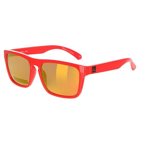 Очки детские Quiksilver Small Fry RedСолнцезащитные очки<br>Детские очки в оправе из гриламида подчеркнут внешний вид ваших маленьких модников.Характеристики:Оправа из гриламида.Прочные линзы из поликарбоната. 100% защита от UVA, UVB и uvc лучей. Линза 3 категории для превосходной фильтрации в очень солнечную погоду. 6-тислойное покрытие против царапин.<br><br>Размер EU: One Size<br>Цвет: красный<br>Тип: Очки<br>Возраст: Детский