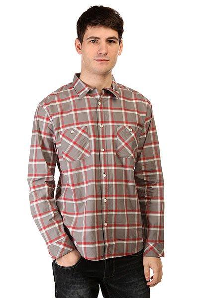 Рубашка в клетку Quiksilver Maxford Wvtp Maxford Steeple GreyРубашки<br><br><br>Размер EU: S<br>Размер EU: XS<br>Цвет: серый<br>Тип: Рубашка в клетку<br>Возраст: Взрослый<br>Пол: Мужской