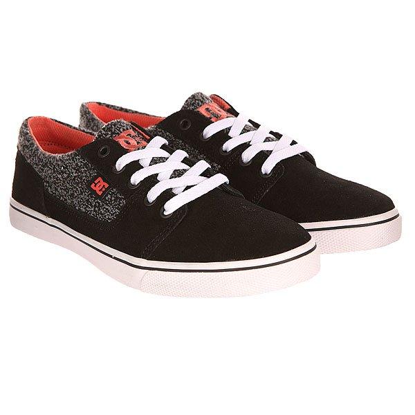 Кеды кроссовки низкие женские DC Tonik W Se J Shoe Black/Carbon/Print от BOARDRIDERS