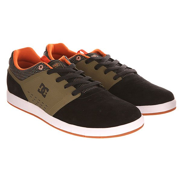 Кеды кроссовки низкие DC Cole Signature Shoe Black/Olive от BOARDRIDERS
