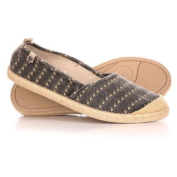Эспадрильи женские Roxy Flamenco J Shoe Black/WhiteПовседневные кеды<br>Эспадрильи Roxy выполнены из текстиля и декорированы джутом.Характеристики:Внутренняя текстильная отделка. Мягкая стелька. Резиновая подошва. Декорированы джутом.<br><br>Размер EU: 37<br>Размер US: 7<br>Размер CM: 24<br>Размер EU: 38<br>Размер US: 8<br>Размер CM: 25<br>Размер EU: 39<br>Размер US: 8.5<br>Размер CM: 25.5<br>Размер EU: 36<br>Размер US: 6<br>Размер CM: 23<br>Размер EU: Roxy woman A: 9us 40eur 25.75cm<br>Цвет: серый,бежевый<br>Тип: Эспадрильи<br>Возраст: Взрослый<br>Пол: Женский