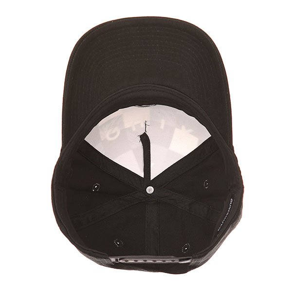 Бейсболка классическая детская Quiksilver Pintails Youth Hats Bp Check Remix Black от BOARDRIDERS