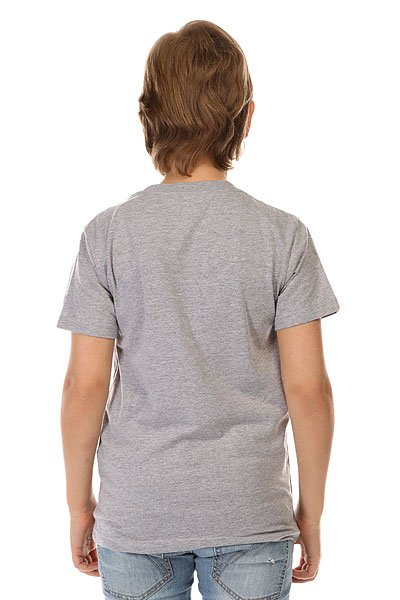 Футболка детская DC Pacific Palm By Tees Heather Grey от BOARDRIDERS