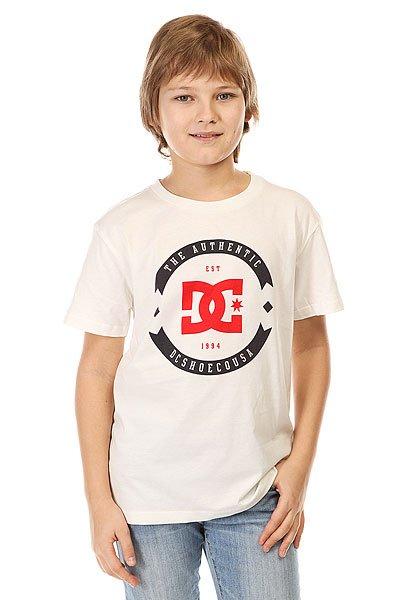 Футболка детская DC Basic Ss By Eng Tees Off WhiteФутболки и Майки<br>Классическая детская футболка с оригинальным принтом от DC.Технические характеристики: Мягкая на ощупь ткань.Классический фасон.Короткие рукава.Графический принт с логотипом DC.<br><br>Размер EU: 16yrs<br>Цвет: бежевый<br>Тип: Футболка<br>Возраст: Детский