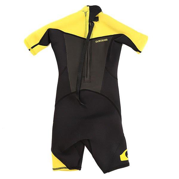 Гидрокостюм (Комбинезон) детский Quiksilver 2mm Syncr Black/Yellow от BOARDRIDERS