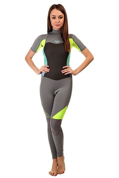 Гидрокостюм (Комбинезон) женский Roxy 2/2mm Syns Slbz Full J Dark Grey/Fresh LemonГидрокостюмы<br>Практичный и долговечный женский гидрокостюм для водных видов спорта.Технические характеристики: Неопрен FN Lite, который на 16% легче своих конкурентов с большим количеством воздушных капсул, сохраняющих тепло и экономящих вес.Технология Dry Flight Far Infrared Heat Technology - термо подкладка, которая сохраняет тепло тела.Неопрен THERMAL SMOOTHIE NEOPRENE - на 16% эластичнее своих конкурентов, ветро- и водоустойчивый, чтобы держать тебя в тепле.Тройные проклеенные и прошитые швы GBS.Технология Hydroshield предотвращает попадание воды в костюм через молнию.Неопрен GlideSkin в области шеи.Молния YKK™№10 с длинной лентой для удобного надевания.Регулируемая водонепроницаемая застежка на шее Hydrowrap.Наколенники ECTOFLEX - прочные, легкие и эластичные панели в районе колен.Внутренние карманы для ключей.Толщина 2/2 мм.Яркий контрастный дизайн.Логотип Roxy.<br><br>Размер EU: 4<br>Размер EU: 6<br>Размер EU: 8<br>Размер EU: 10<br>Размер EU: 12<br>Цвет: серый,желтый<br>Тип: Гидрокостюм (Комбинезон)<br>Возраст: Взрослый<br>Пол: Женский
