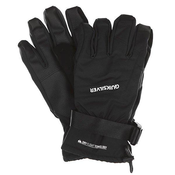 Перчатки сноубордические Quiksilver Mission Glove Black от BOARDRIDERS