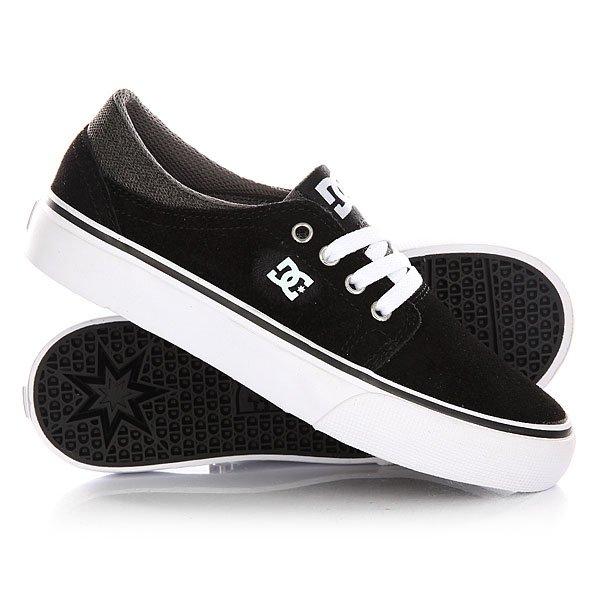 Кеды кроссовки низкие детские DC Trase Sd Black/Grey/White