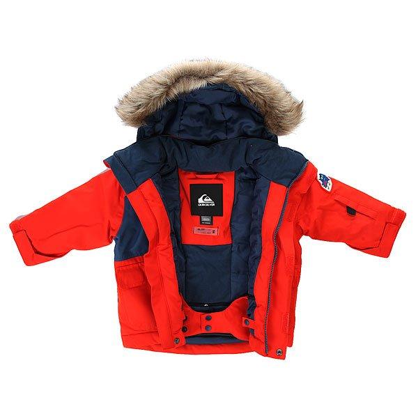Куртка детская Quiksilver Flakes Kids Jkt Poinciana от BOARDRIDERS
