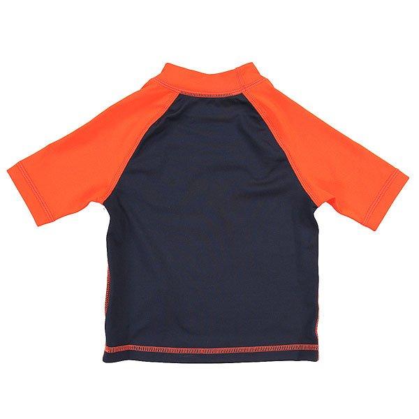 Гидрофутболка детская Quiksilver Free Plays kids K Navy Blazer/Mandarin от BOARDRIDERS