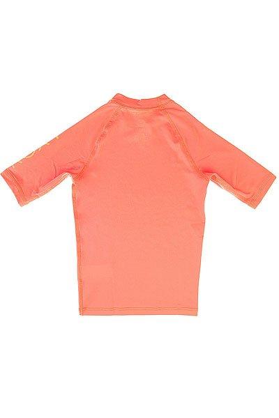 Гидрофутболка детская Roxy Whole Heart Sunkissed Coral от BOARDRIDERS