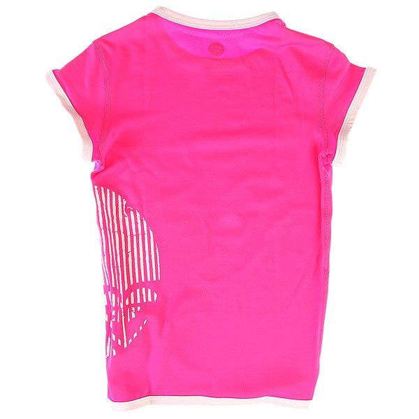 Гидрофутболка детская Roxy Sunset Paradise Pink от BOARDRIDERS