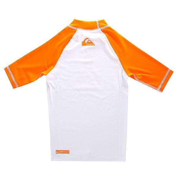 Гидрофутболка детская Quiksilver Deconstruct Orange от BOARDRIDERS
