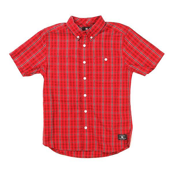 Рубашка в клетку детская DC Atura 2 Atura FormulaРубашки<br><br><br>Размер EU: 8yrs<br>Размер EU: 10yrs<br>Размер EU: 12yrs<br>Размер EU: 14yrs<br>Размер EU: 16yrs<br>Цвет: красный<br>Тип: Рубашка в клетку<br>Возраст: Детский
