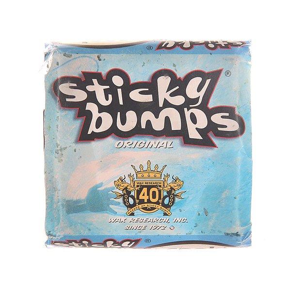 Вакса для серф доски Sticky Bumps Wax Cool White от BOARDRIDERS