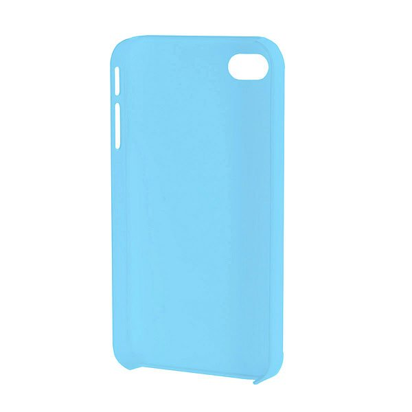 Чехол для iPhone Белка и Стрелка Матовый Голубой Казбек