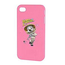 Чехол для iPhone Белка и Стрелка Матовый Розовый Белка